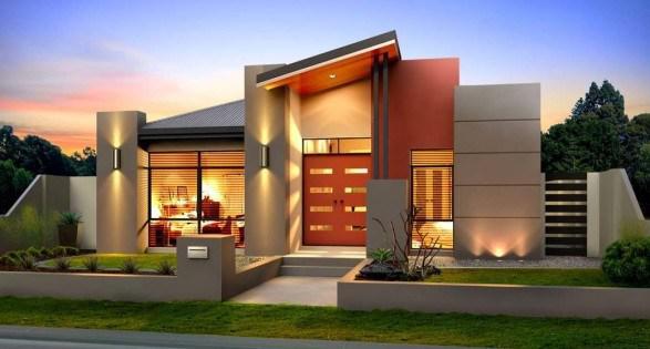 Desain Interior Rumah Mewah 1 Lantai  desain rumah minimalis istimewa idaman keluarga