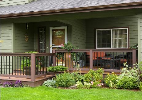 Desain Interior Rumah Panggung Minimalis  desain rumah minimalis 1 lantai dengan teras keliling