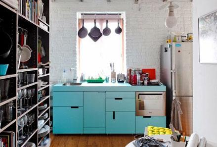 Desain Dapur Sempit Memanjang  tips desain dapur cantik untuk rumah bergaya minimalis